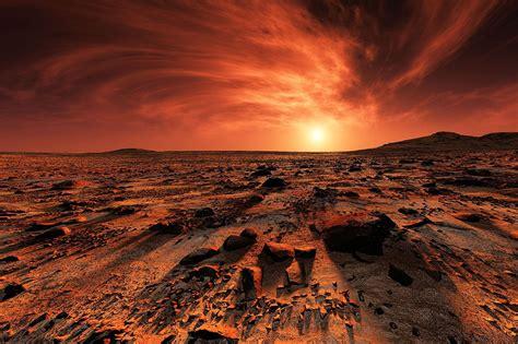 Incredible Footage Of Mars In 4K