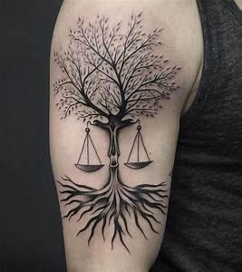 Top 10 Libra Tattoo Designs