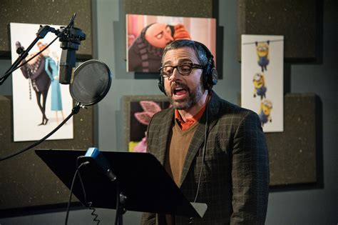 Kaos Despicable Me Logo 2 Cr steve carell tackles parenting challenges in despicable
