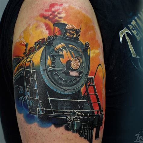 steam train tattoo  tattoo ideas gallery