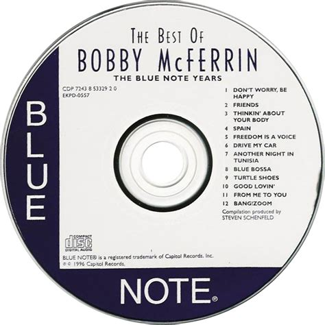 the best of bobby mcferrin car 225 tula cd de bobby mcferrin the best of bobby mcferrin