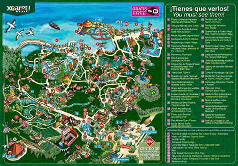 xcaret review itineraries   eco theme park
