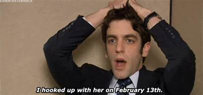 Office Stressed Gifs Phone Novak Giphy Valentines