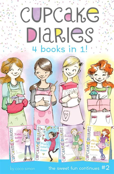 Cupcake Diaries 4 Books In 1 2 Katie Batter Up Mia
