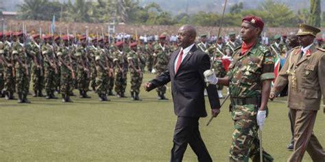 burundi nkurunziza promet de répondre par la si l union africaine envoie ses troupes