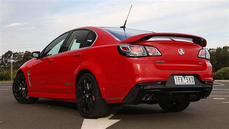 holden ssv holden commodore vfii ss v redline sedan 2016 review
