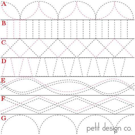 triangle quilt border templates 25 best machine quilting patterns ideas on pinterest