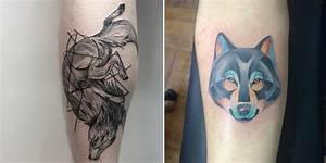 Tatouage Fleche Signification : l 39 histoire et la signification du tatouage du loup ~ Farleysfitness.com Idées de Décoration