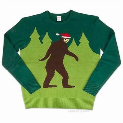 Christmas Bigfoot Sweater Ugly Foot Gifts Holiday