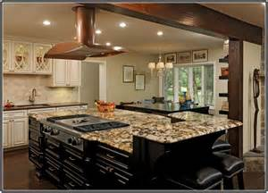 kitchen island with stove and seating granite top kitchen island with seating home design ideas