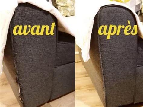 recouvrir un canapé en tissu diy réparation facile d 39 un accoudoir de canapé en tissu
