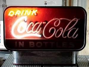 Capco Miniature Times Square Spectacular Coca Cola Neon