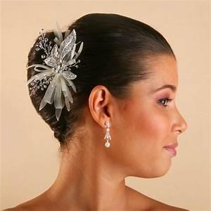 bijoux pour chignon mariage With bijoux coiffure mariage
