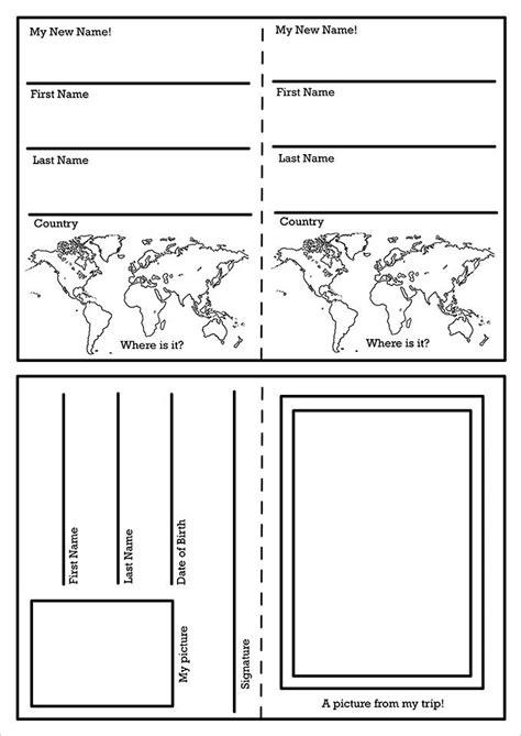 editable passport template passport template 19 free word pdf psd illustrator format free premium