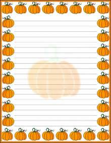 Free Printable Halloween Writing Paper Stationery