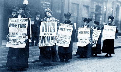 suffragette storia della lotta  il diritto  voto