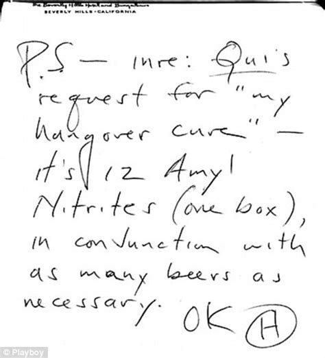 s thompson writes a blistering the top letter to 12 poppers and as many beers as necessary s 22560