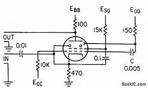 Negative Pulse Trigger - Amplifier Circuit