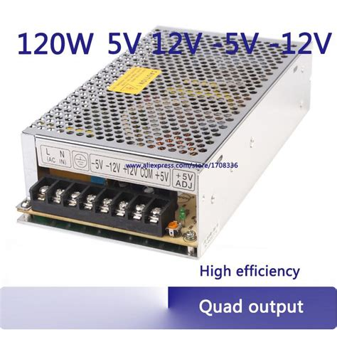 Switching Power Supply 24v 2 1a 120w output switching power supply ac to dc 5v 12v