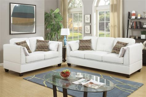white leather sofa  loveseat set steal  sofa