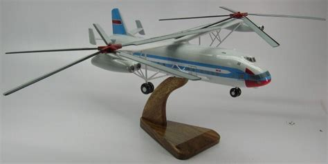 Mil Mi-12 Homer Russian Mi12 Helicopter Wood Model Large