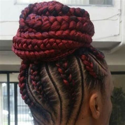 French Braid Hairstyles For Natural Hair