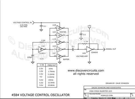 Circuit Cmos Schmitt Trigger Makes Vco