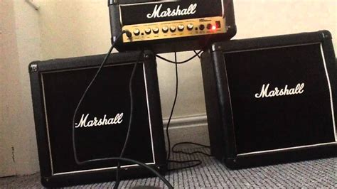 Marshall Half-stack Mini Stack Amp Side-by-side Demo-bad