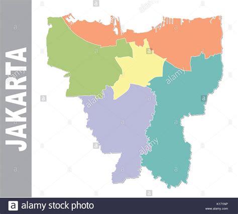 jakarta map stock  jakarta map stock images alamy