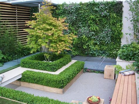 model desain taman rumah mungil  minimalis