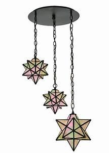Meyda moravian star light shower multi pendant