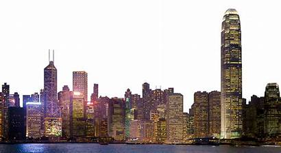 Building Buildings Night Skyline Transparent Pngs Clipart