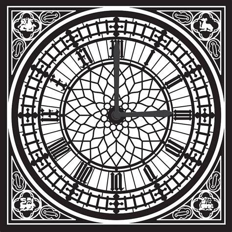 vector windows reviews big ben wall sticker clock by funky darlings