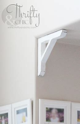 Diy Wood Corbels by Thrifty And Chic Diy Projects And Home Decor