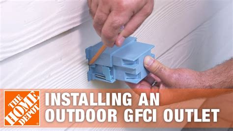 Installing Outdoor Gfci Outlet Overview The Home