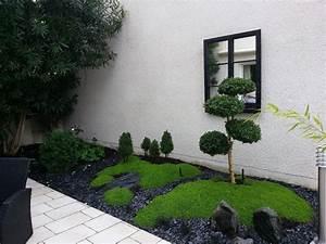 Massif jardin zen L'univers du jardin