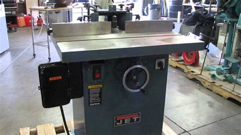 jet industrial hp wood spindle moulder shaper wss