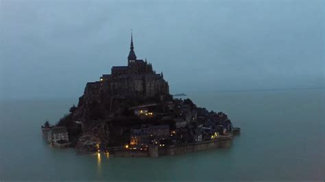 maree mont st michel 2015 grandes mar 233 es le mont michel redevient une 238 le le journal de 13h mytf1news