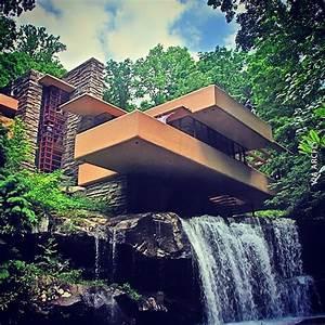 Frank Lloyd Wright Gebäude : bonitas imagenes de la obra de frank lloyd wright la casa de la cascada casa de la cascada ~ Buech-reservation.com Haus und Dekorationen