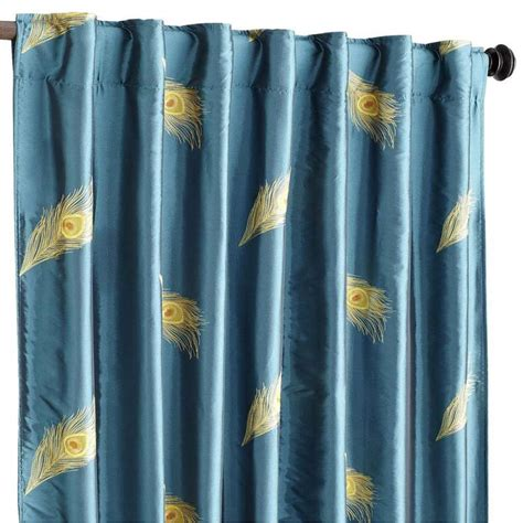 Pier One Curtains Panels by Set Of 2 Pier 1 Imports Window Panel Curtains Peacock