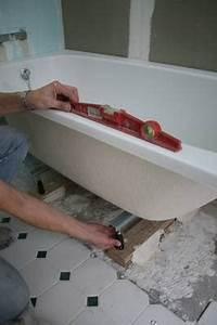 Repeindre Une Baignoire : installer une baignoire ~ Premium-room.com Idées de Décoration