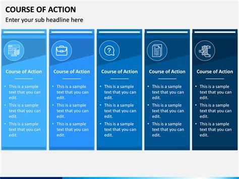 action powerpoint template sketchbubble