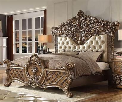 Furniture Traditional Wooden Royal Bed Bedroom Ek