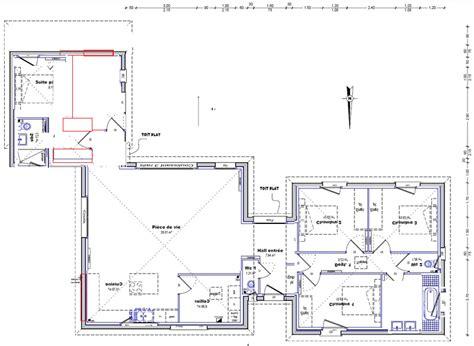 isolation phonique porte chambre besoin de vos avis sur mon plan maison plain pied de 140