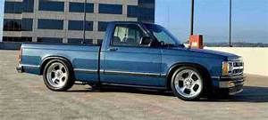 Chevrolet S10 Pickup Blue Rwd Manual S10  1993  About