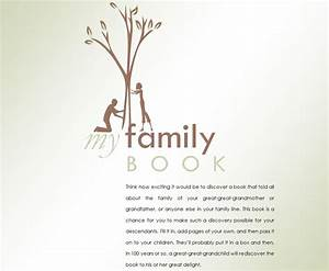 family history book family history book template With family genealogy book template