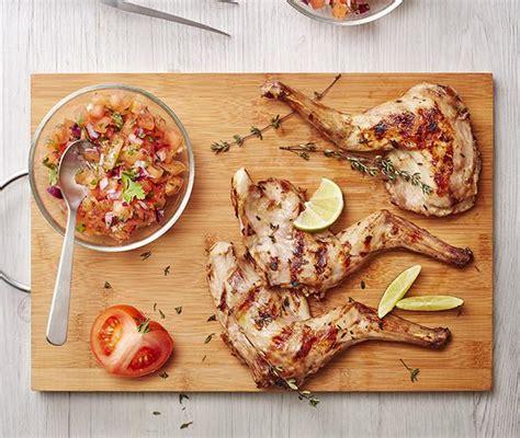 cuisine un lapin recette gigolettes de lapin au barbecue parfumées au thym citron et salsa de tomates 750g