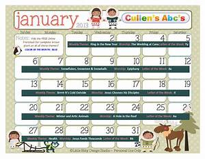 Preschool Calendars | Online Preschool and Children's ...