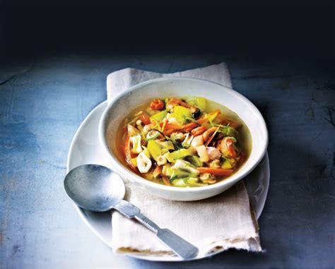 cuisine asie recette bouillon de fruits de mer aux saveurs d 39 asie