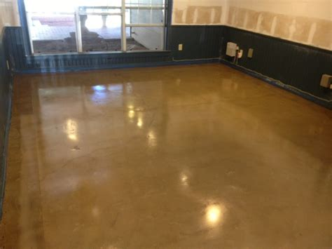 Water Based Floor Stain - stained concrete mvl concretes